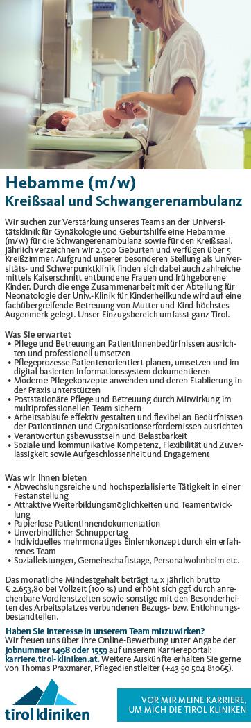 A.ö. Landeskrankenhaus - Universitätskliniken Innsbruck