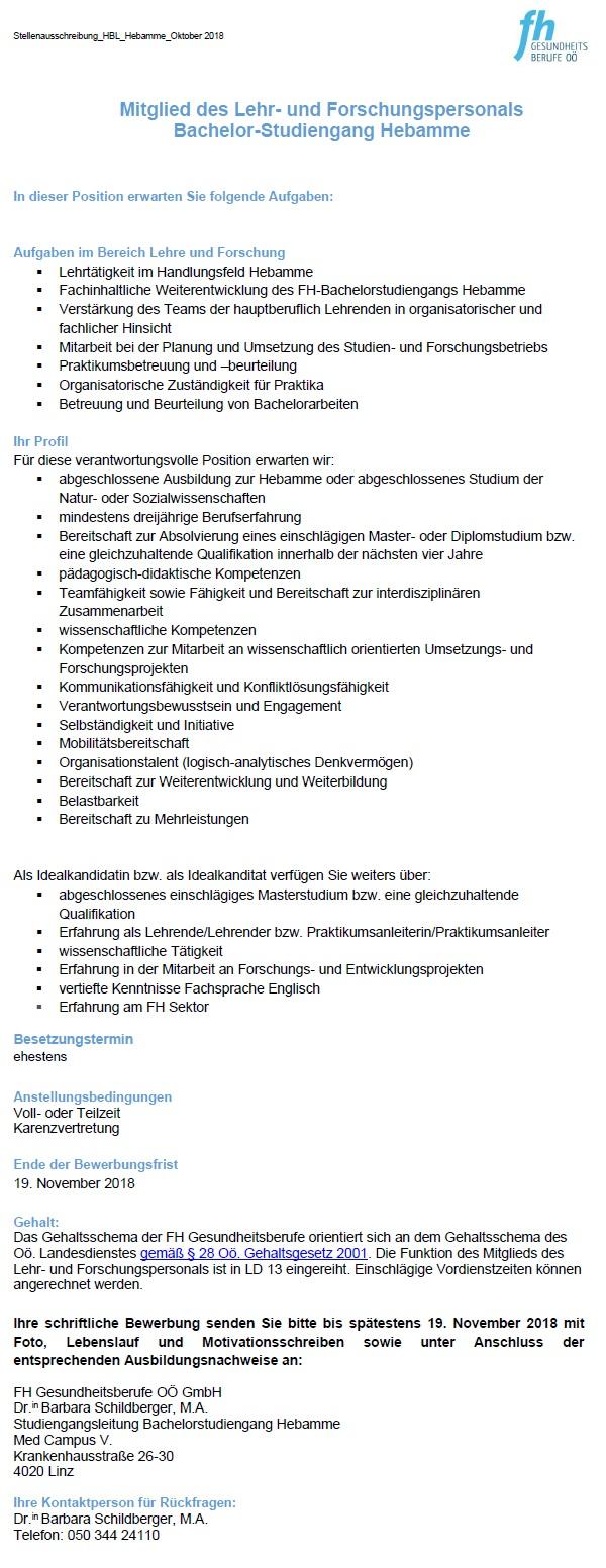 FH Gesundheitsberufe OÖ GmbH