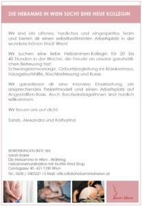 Die Hebamme in Wien Währing