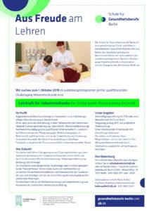 Schule für Gesundheitsberufe Berlin