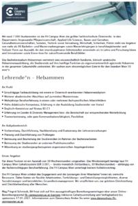 FH Campus Wien